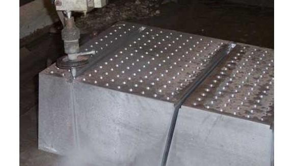 Water Jet Metal Cutting