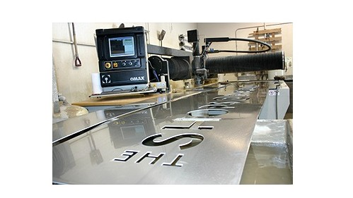 Waterjet Cutting Signage