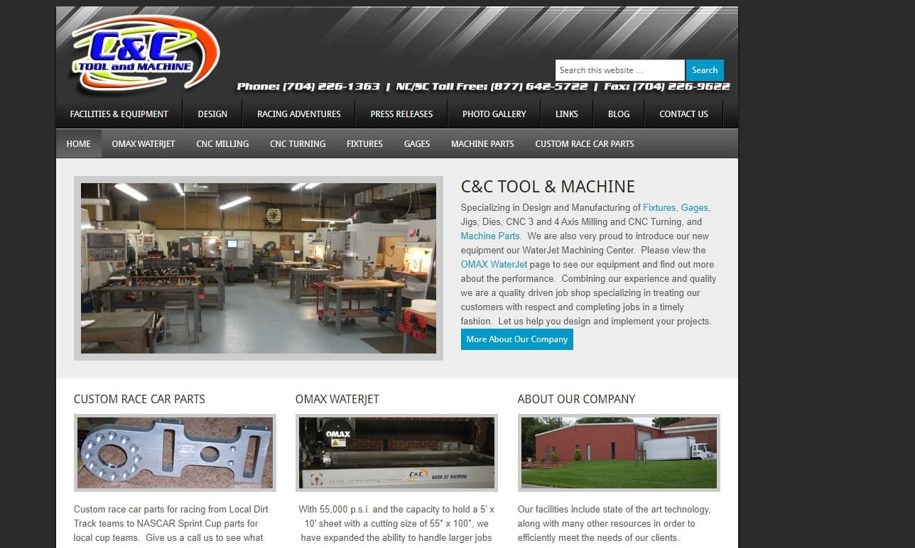 C & C Tool and Machine