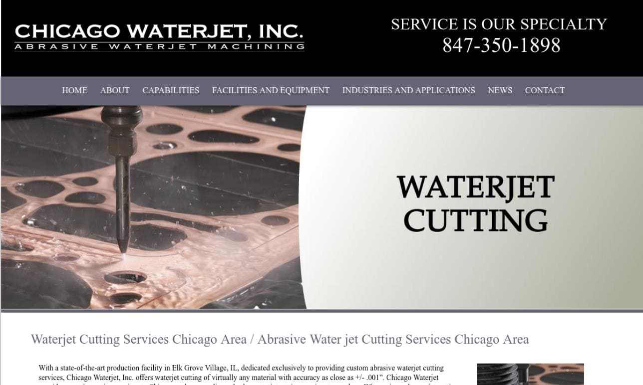 Chicago Waterjet, Inc.