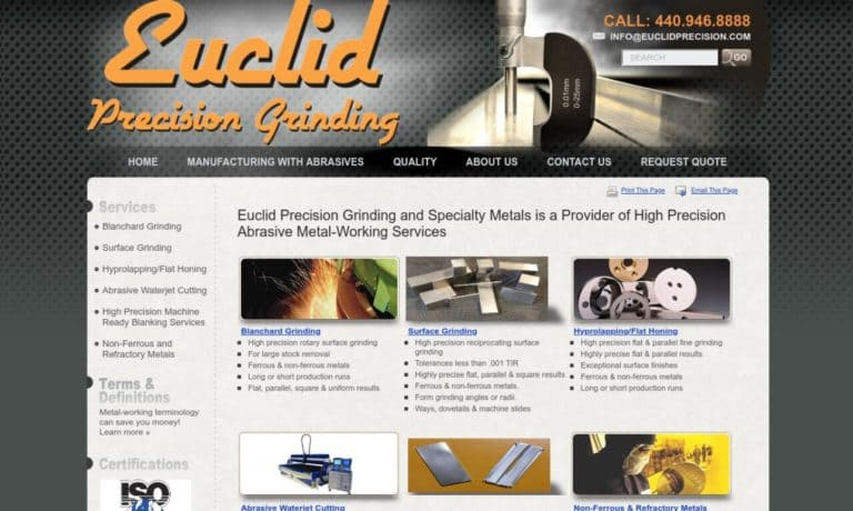 Euclid Precision Grinding, Inc.
