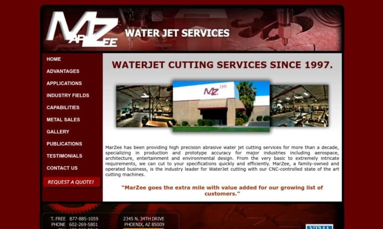 MarZee Water Jet Services