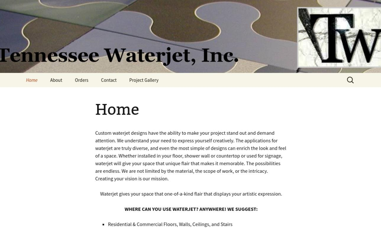 Tennessee Waterjet, Inc.