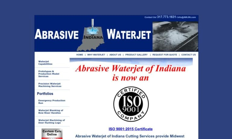 Abrasive Waterjet of Indiana