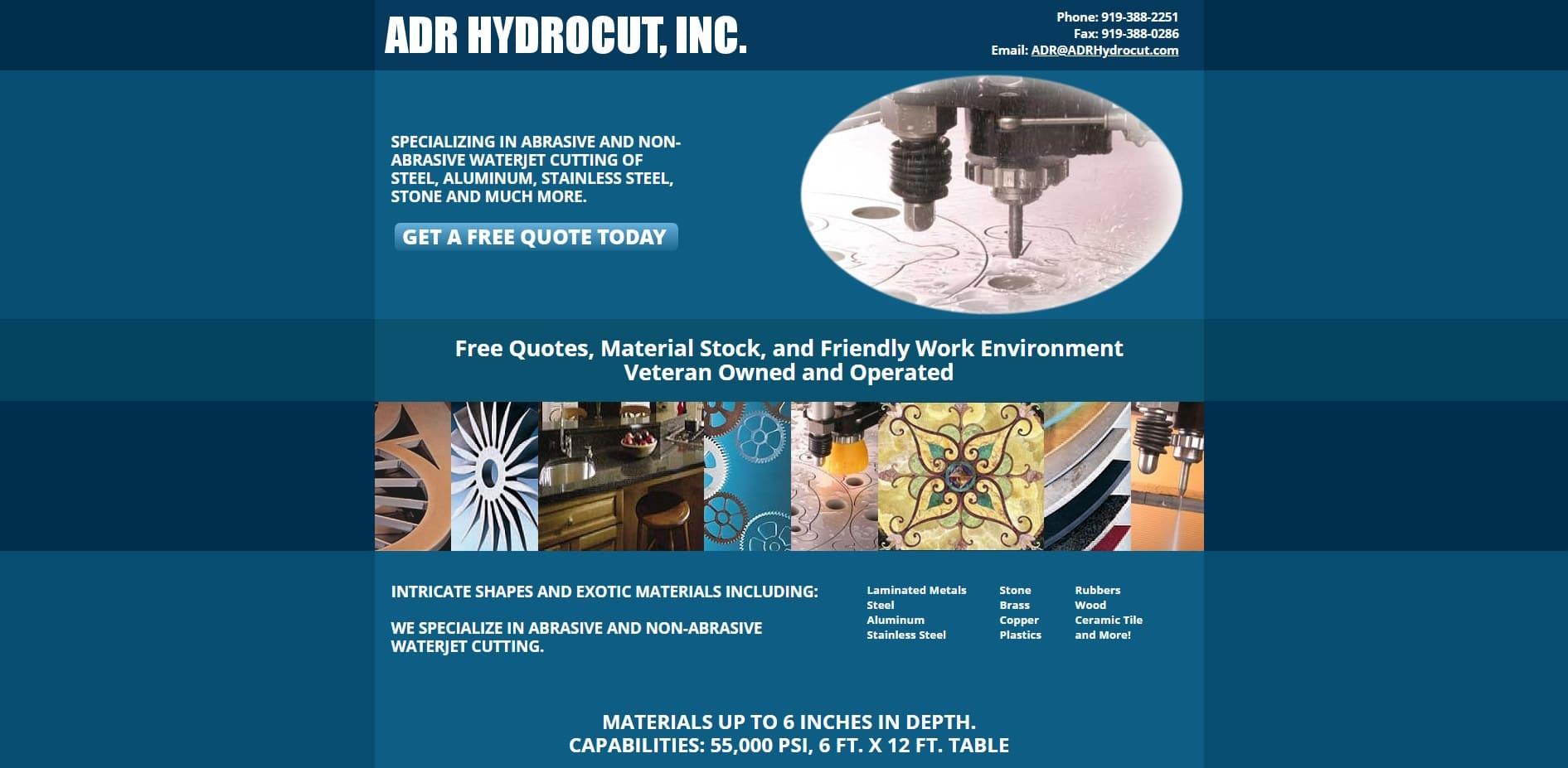 ADR Hydro-Cut, Inc.