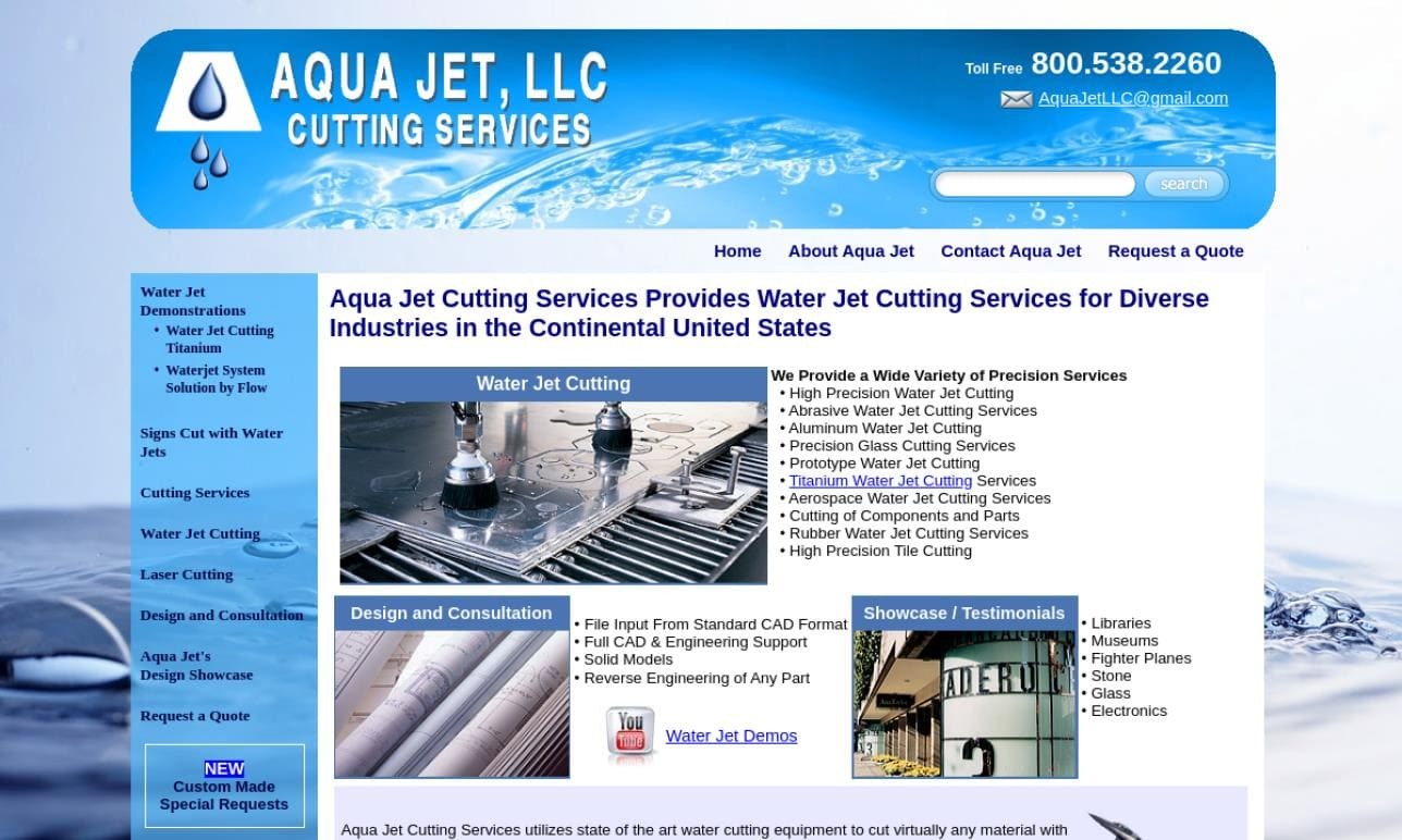 Aqua Jet Cutting Services