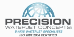 Precision Waterjet Concepts Inc. Logo