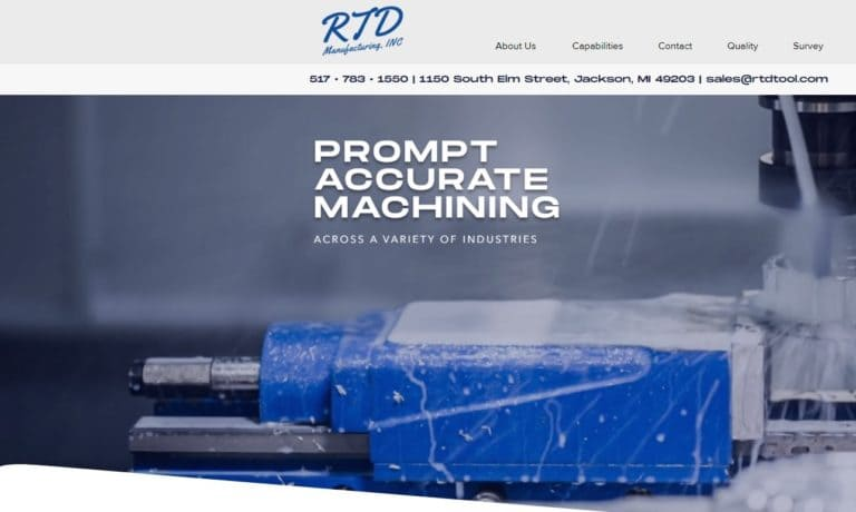 RTD Manufacturing, Inc.