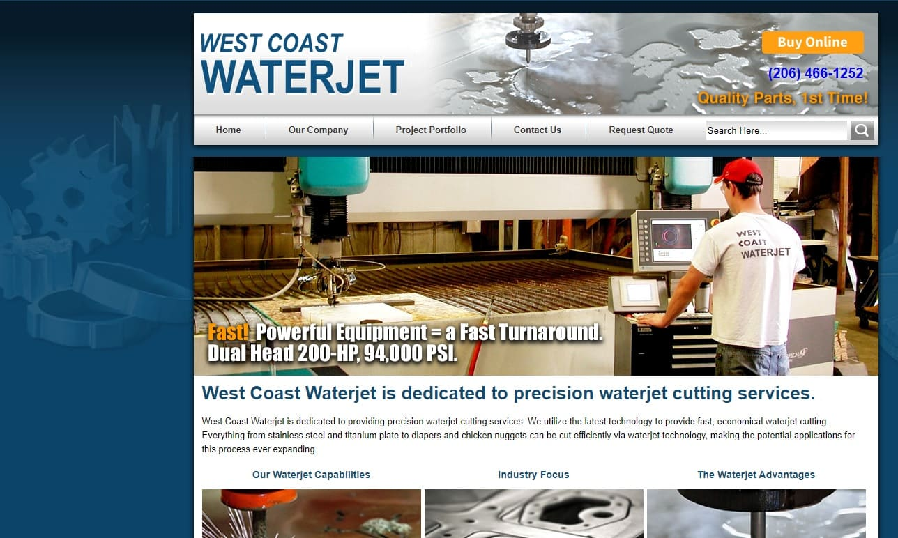 West Coast Waterjet