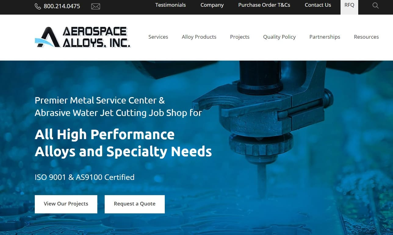 Aerospace Alloys, Inc.