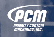 Priority Custom Machining, Inc. (PCM) Logo